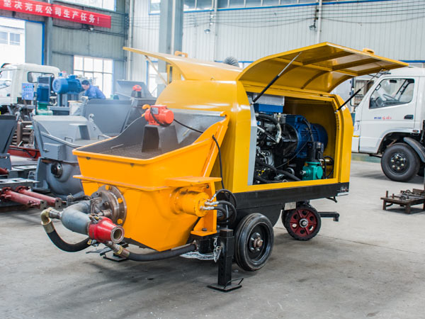 泵送式湿喷机结构